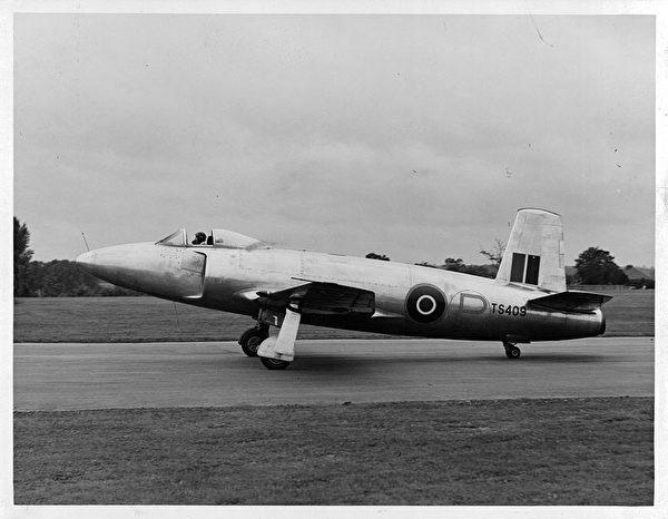 1940年的英國噴氣式戰鬥機。(Herbert/Archive Photos/Getty Images)