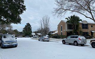組圖:德州遭空前冬季風暴襲擊