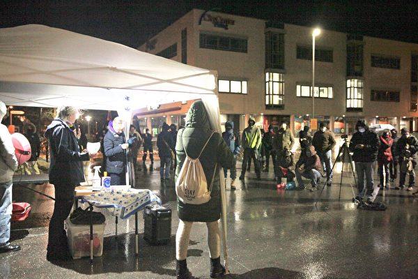 抗議政府疫情封鎖 慕尼黑衛星城每週集會