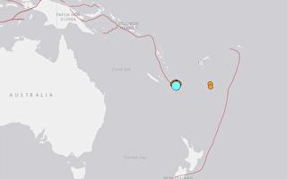 南太平洋发生7.7级地震 海啸威胁新西兰等岛国