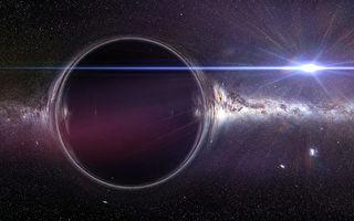 研究:宇宙中或存在星系级大小的黑洞