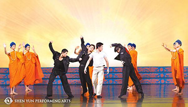 Ảnh sân khấu vũ kịch Thần Vận. (Trang web chính thức của Đoàn Nghệ thuật Thần Vận)
