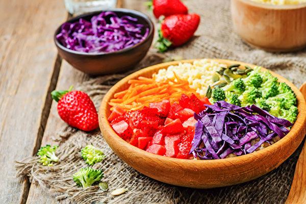 平时注意睡眠、吃对饮食,就能帮你抗氧化。(Shutterstock)