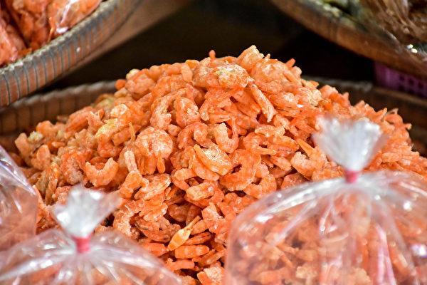 新鲜虾米有海鲜香气,不会有腥味。(Shutterstock)