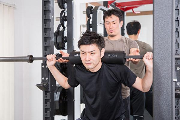 重训若有教练指导,可避免受伤且锻练更有效率。(Shutterstock)