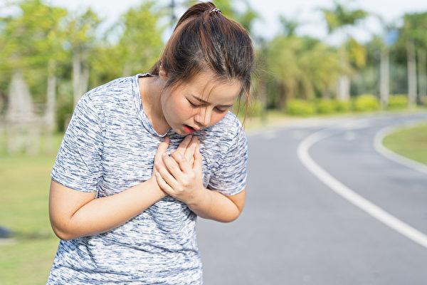新冠病毒波及心脏引起昏倒、猝死,中医如何急救?(Shutterstock)