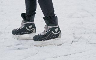 加拿大運動員在冰上「月球漫步」 網民喝采