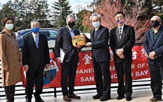 舊金山灣區台灣商會 第十次捐贈口罩
