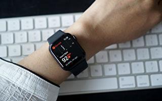 智能手表有助提前预警中共病毒感染