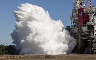 NASA返月重要里程碑:成功测试最强大火箭