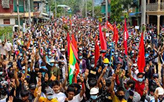 最血腥一天 缅甸逾百抗议者被杀 5岁童中弹