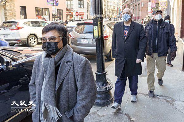 【视频】波士顿市议员费连探访华埠商家