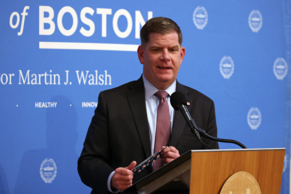 華殊就任聯邦勞動部長 淚別波士頓