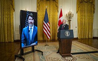 美加元首通话 谴责中共任意拘捕两加拿大人