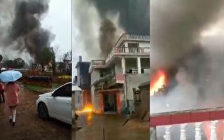 江西氣象局人工造雨飛機墜毀 致5死1傷