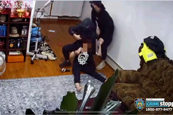 元宵節法拉盛華裔女被劫匪尾隨入室 槍指頭部