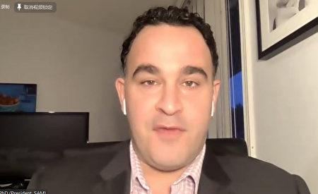 紐約反大麻組織SAM主席薩貝特。