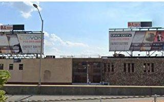 圖片新聞:樓宇局對違規廣告牌執法