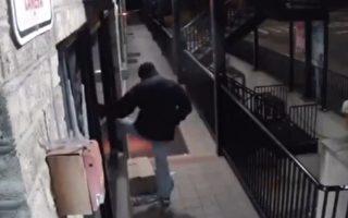 砸玻璃入店行竊  男子被抓現行