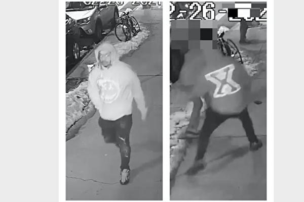 警方发布杀害郑勇凶嫌的更多视频