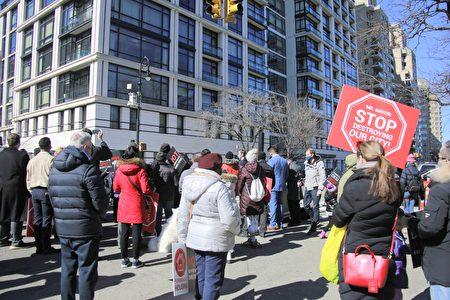 當天約五十名市民出席集會。