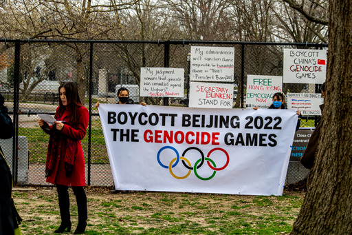美民众要求拜登政府抵制2022北京冬奥会
