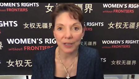 """""""女權無疆界""""組織主席呼吁各國抵制2022年北京冬奧會。"""