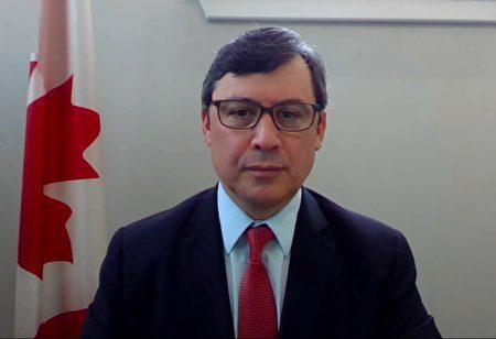 加拿大國會外交委員會副主席莊文浩呼吁政府制裁中共。