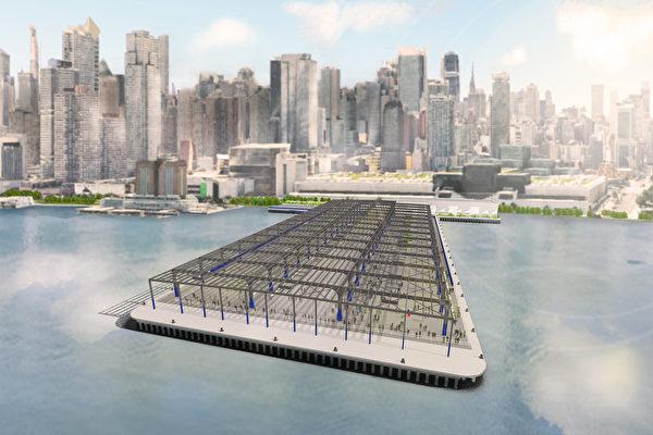 曼哈顿中城76号码头  6月份改为公园