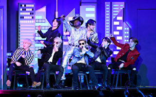 BTS連三年參與葛萊美獎 今年演出《Dynamite》