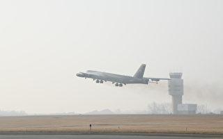 震攝伊朗 美派B-52轟炸機在中東巡邏