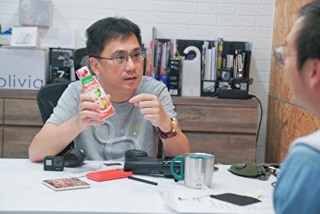 陳延昶認為企業應負起社會責任。
