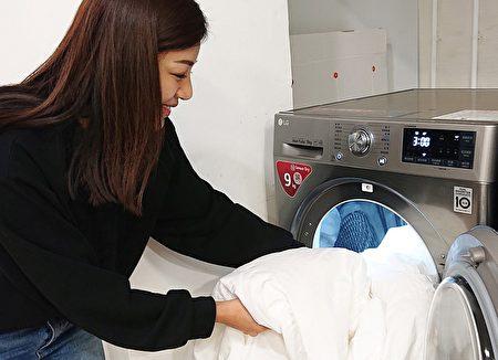 干衣机内建多种功能行程,可减少居家过敏原。