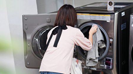 干衣机具有杀菌功能,可做为居家防疫帮手。
