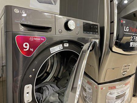 干衣机利用60度以上的温度为衣服烘干、杀菌。