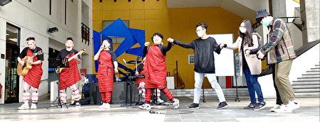 元智社区艺术节,乐莫乐‧春光乐展开。
