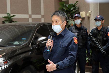 嘉市警局局長黃建榮表示,本次順利緝獲持槍擄人勒贖相關犯嫌,歸功於員警奮力不懈。