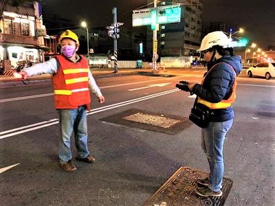 台中市府强化重要道路照明。