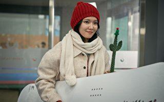 崔秀英、劉太旿雪地拍戲 竟拍出一身大汗