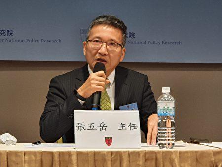 淡江大學兩岸關係研究中心主任張五嶽。