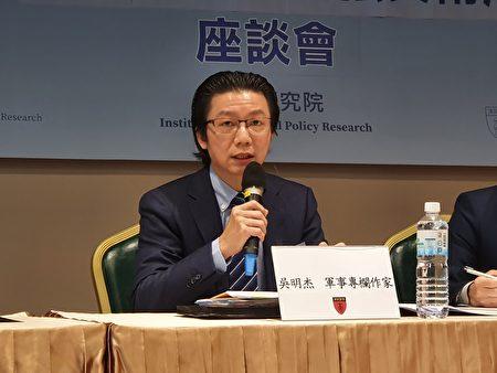 資深軍事記者吳明傑。