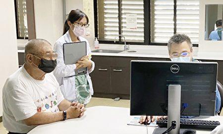 腫瘤個管師陪診,治療期間和治療後也持續陪伴關懷病人。