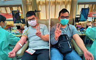 中彰投每日用血1800袋 八年級兄弟挽袖捐