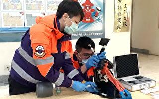 桃园消防局受赠30组救人利器影像喉头镜