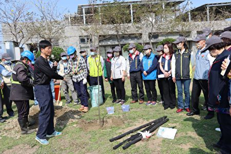 彭宏源老师解说种树步骤