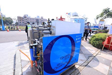 中央增援台中盼獲得更多淨水設備。