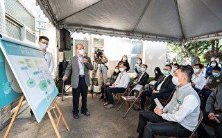 林智坚偕8医院代表视察台水抗旱取水演练