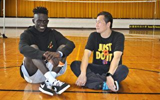 UBA刮起黑色旋風 醒吾科大阿比伯獲善款逐夢NBA