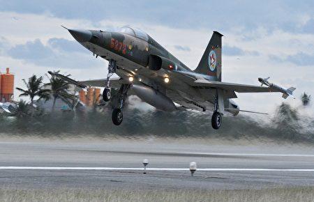F-5战机示意图。
