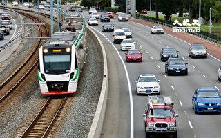 疫情爆發後 珀斯公共交通客流量減三成